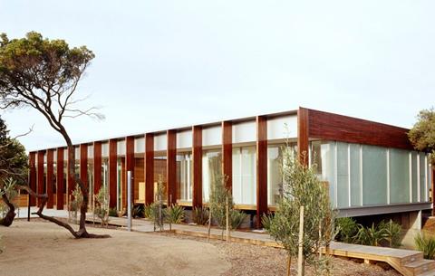 деревянный дом по проекту Robert Watson