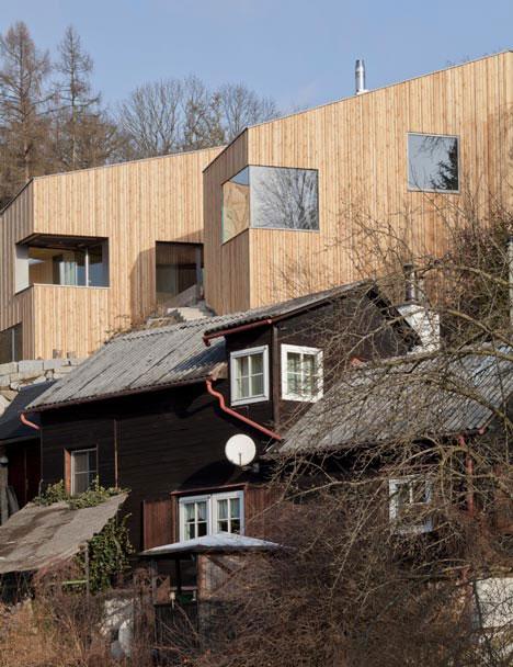 дачные дома-близнецы по проекту Destilat