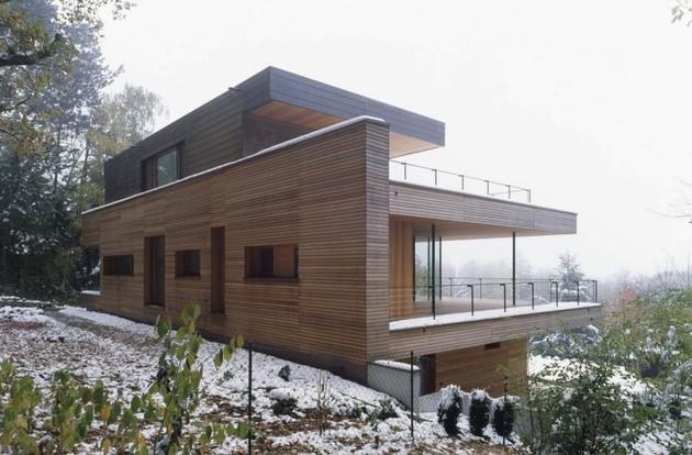 загородный дом в коттеджном стиле по проекту k_m architektur