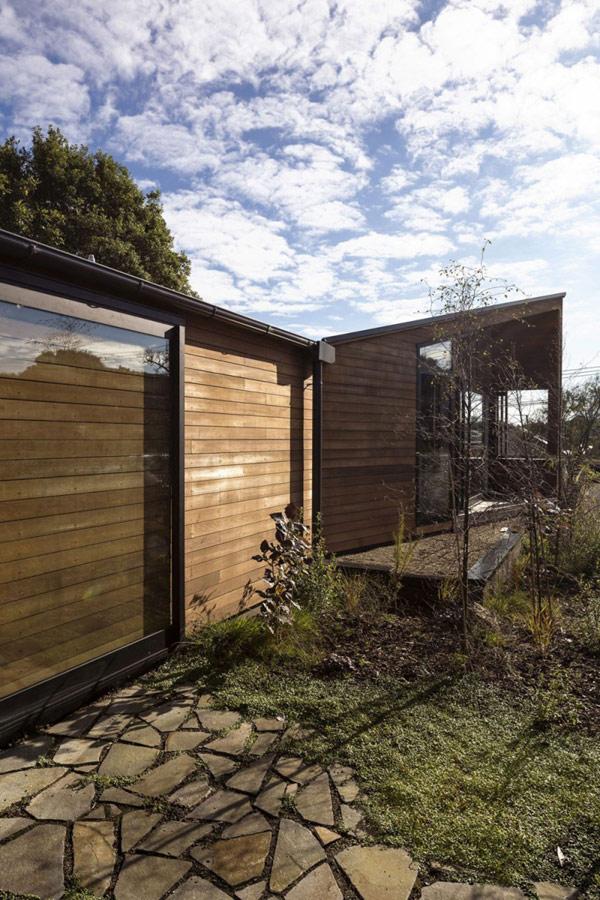 деревянный дом для семьи из пяти человек