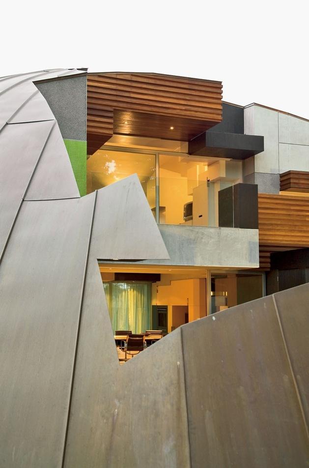 частный куполообразный дом: проект архитектурного бюро McBride