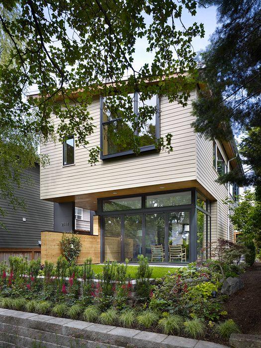 фото загородного дома Wall House
