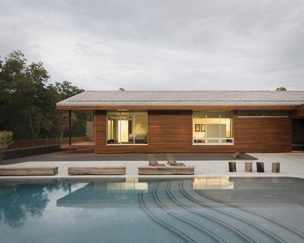 П-образный дом с большим внутренним двором фото 4