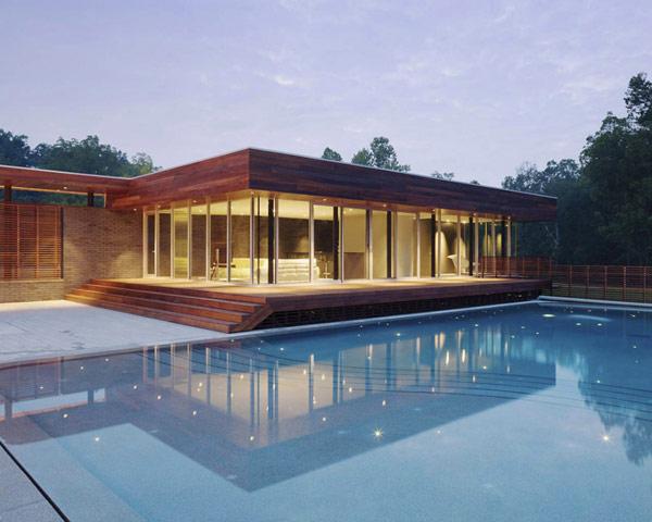 П-образный дом с большим внутренним двором фото 7