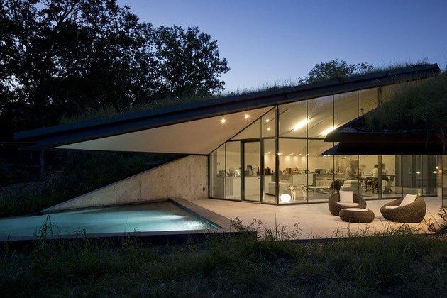 загородный дом по проекту Bercy Chen Studio