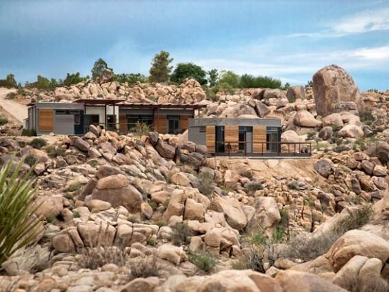 загородный дом из стального каркаса фото 2