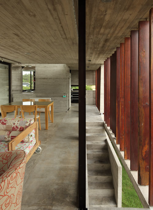 Проект загородного летнего дома - интерьер