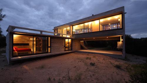 загородный летний дом от BAK Arquitectos