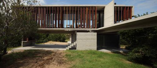 Проект загородного летнего дома - экстерьер