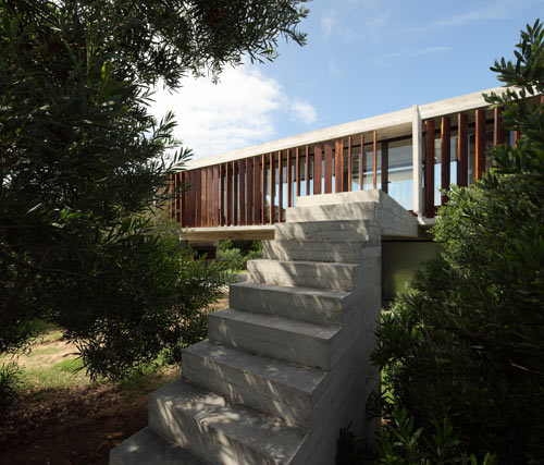 Проект летнего дома от BAK Arquitectos
