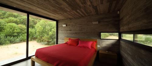 Проект летнего дома - фото спальни