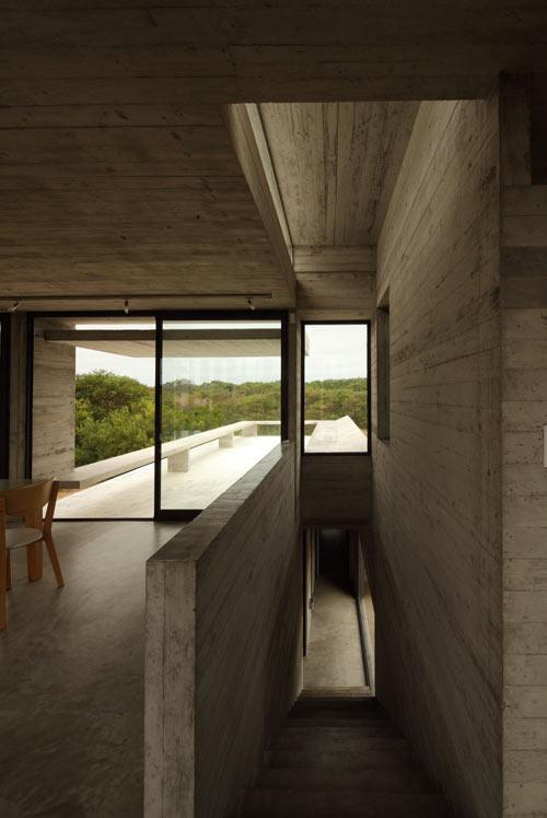 Проект летнего дома - фото лестницы