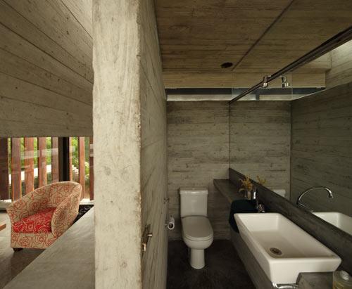 Проект летнего дома - фото туалета