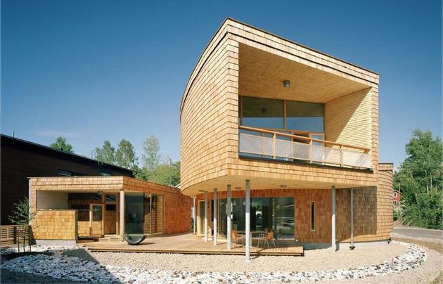 частный дом по проекту Olavi Koponen