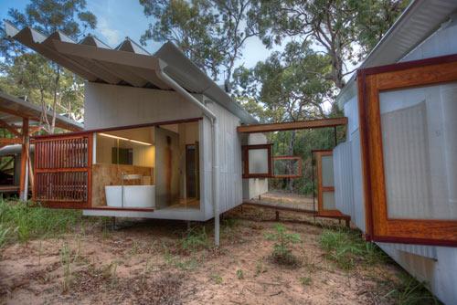 Уединенный домик: загородная резиденция Drew House