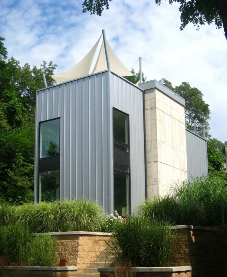 Дом с террасой на крыше фото 1