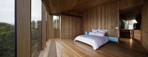 частный домик - спальня
