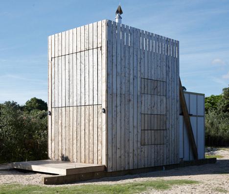 деревянный мобильный дом на пляже Коромандел Пенинсула