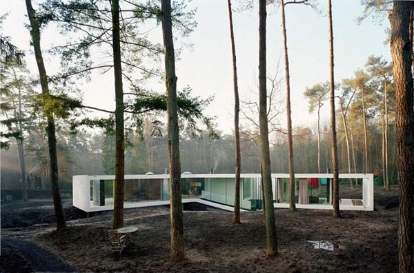 Одноэтажный загородный дом - фото 15