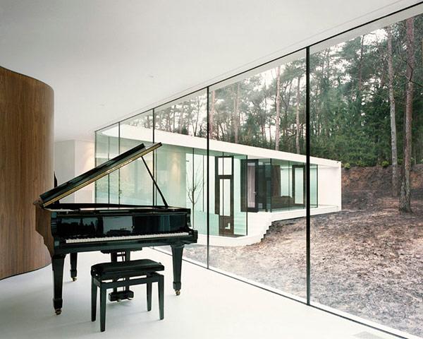 Одноэтажный загородный дом - фото 12