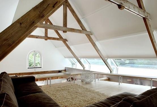 Уютный дом из старого амбара (1)