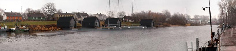 Дом лодка - фото