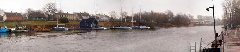 Дом лодка