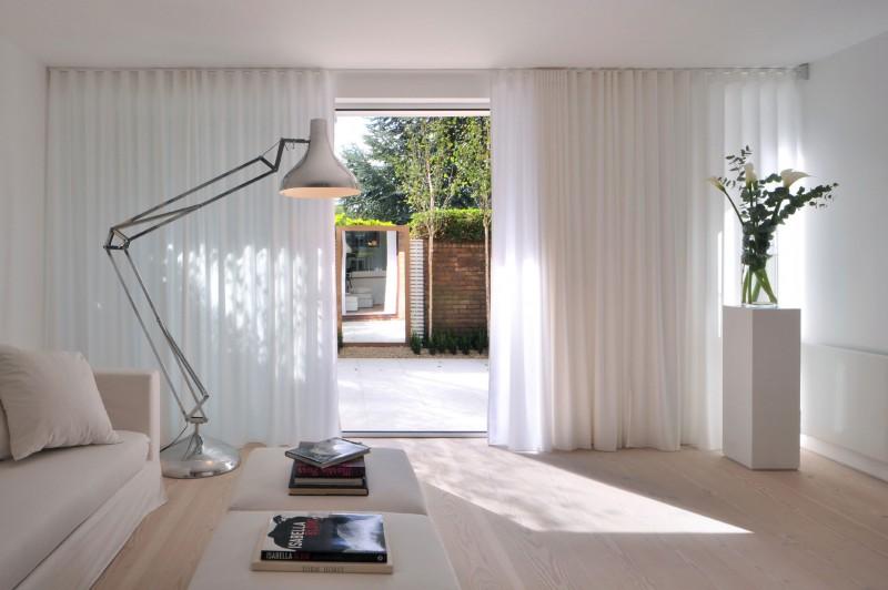 дом в английском стиле гостиная