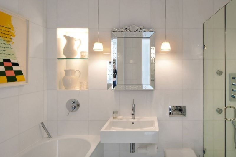 дом в английском стиле ванная