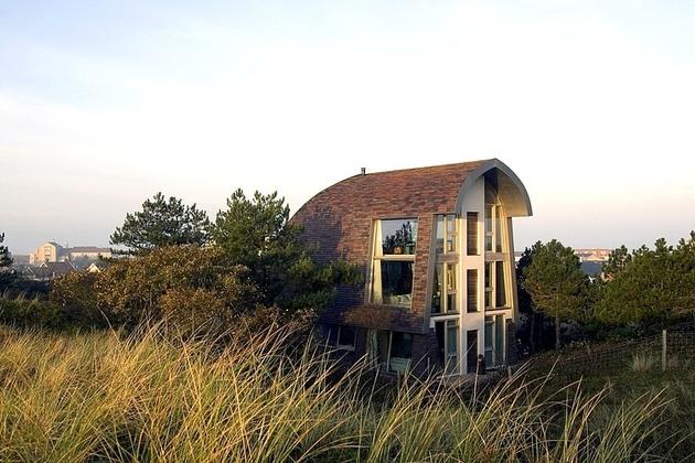дачный домик  - фото