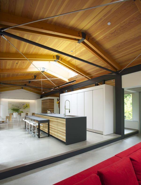 Фото коттеджа - кухня