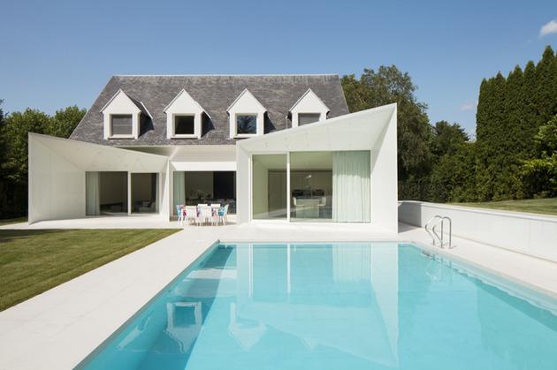 Дом с мансардой - фото проекта DMVA