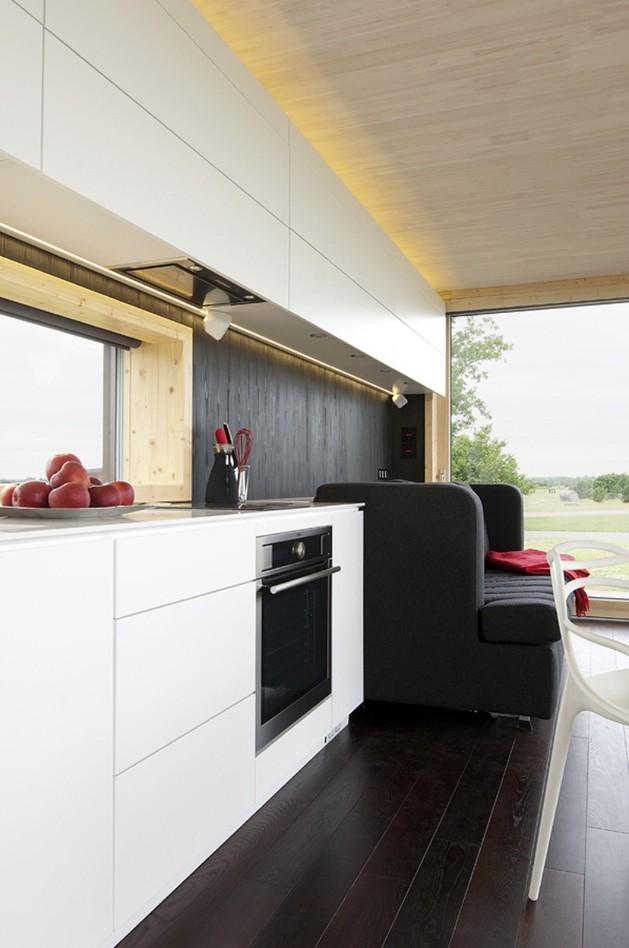 каркасный дом - кухня