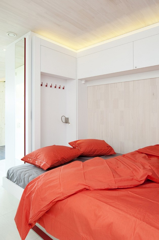 вторая спальня в каркасном доме