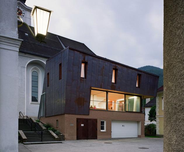 экстерьер дома от австрийской архитектурной студии