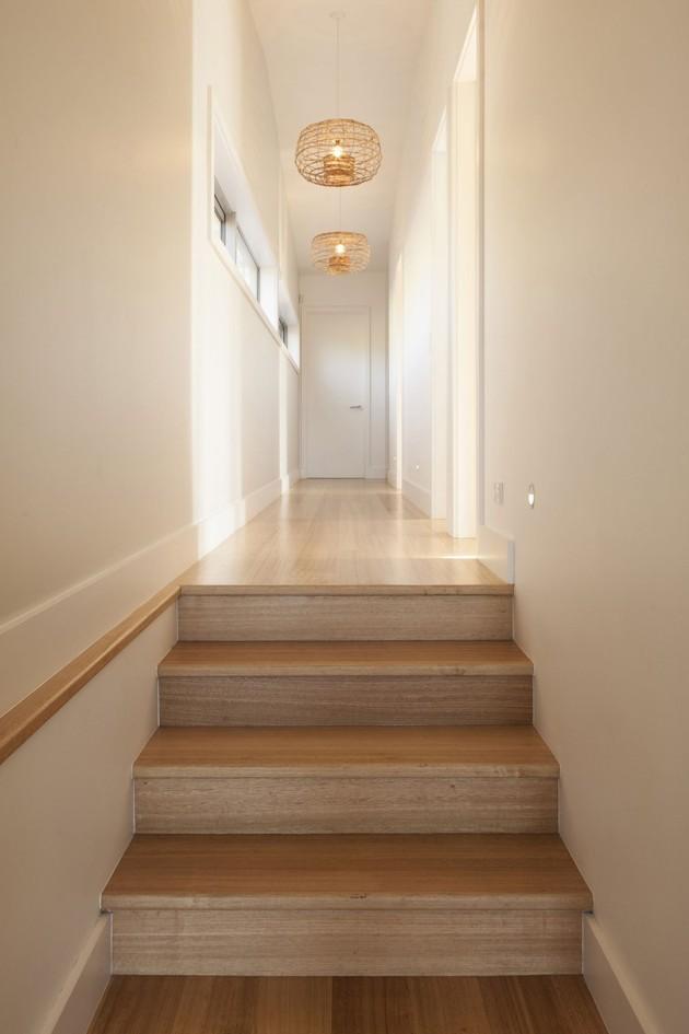 коридор в загородном доме