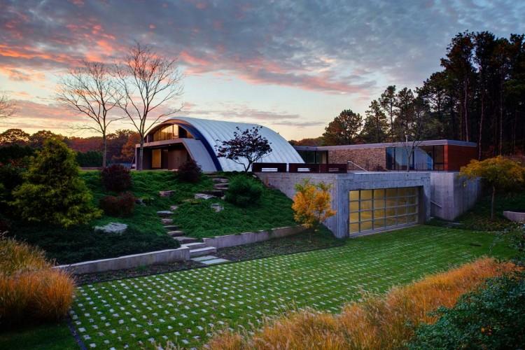 Дом в индустриальном стиле