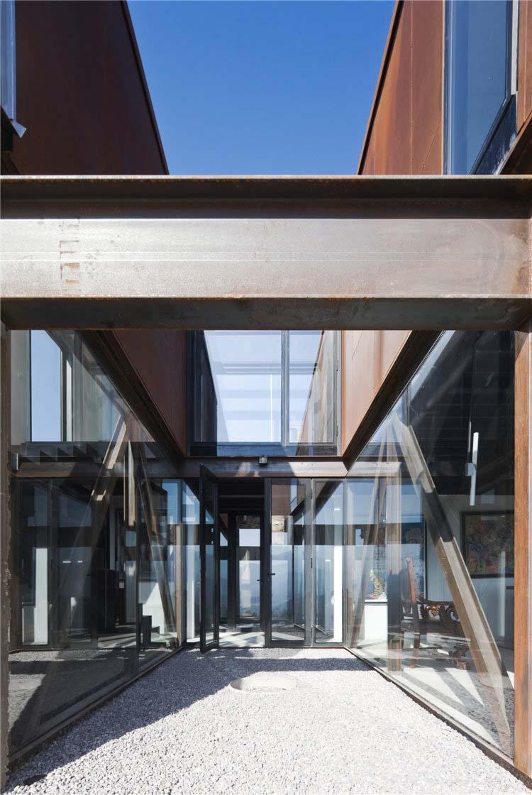 дом из металла фото 4