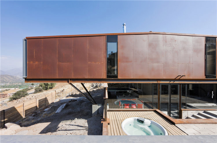 дом из металла фото 2