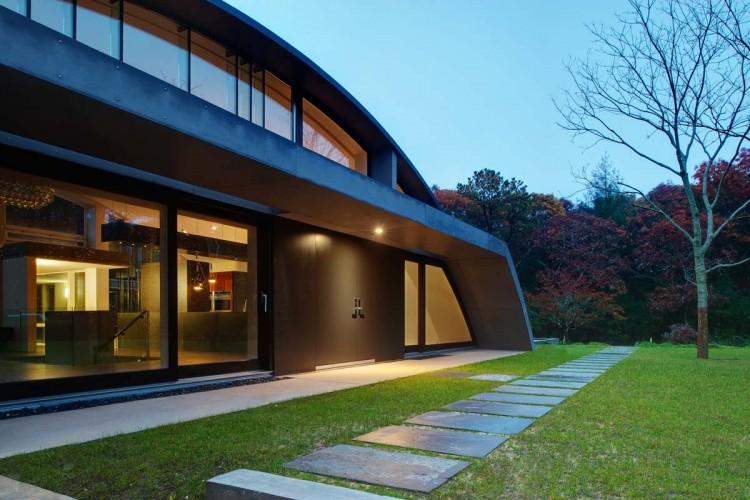 Дом в индустриальном стиле - экстерьер