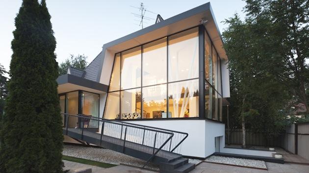Проект дома 350 кв.м. - экстерьер
