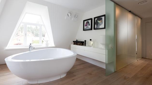Проект дома 350 кв.м. - ванная