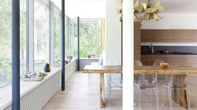 Проект дома 350 кв.м. - окна