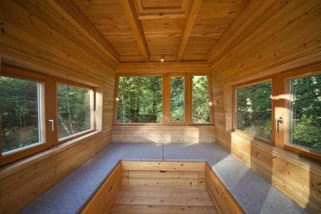 лесной домик фото 6