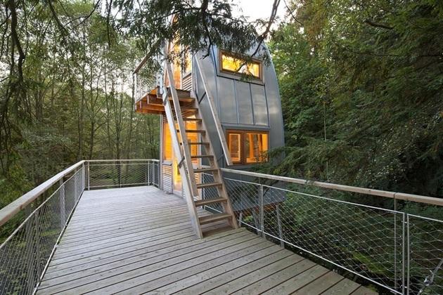лесной домик фото 5