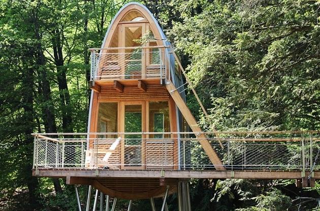 лесной домик фото 1