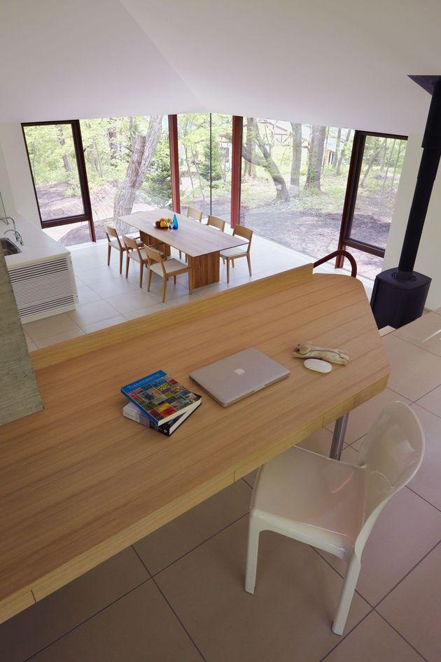 дфото особняка с разноуровневыми потолками 9