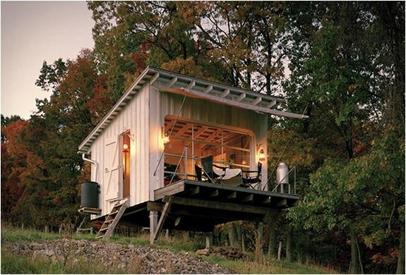 Дачный дом на опорах