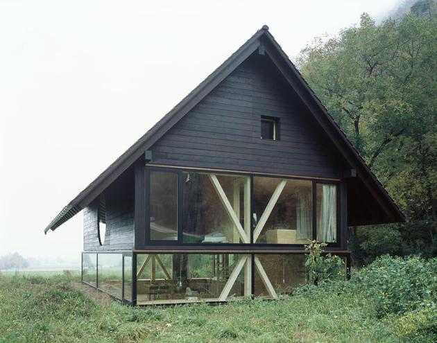 Остекление деревянного дома 1
