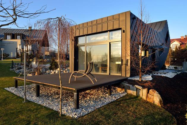 Проект необычного дома 6